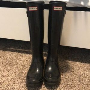 Original Black Hunter Boots